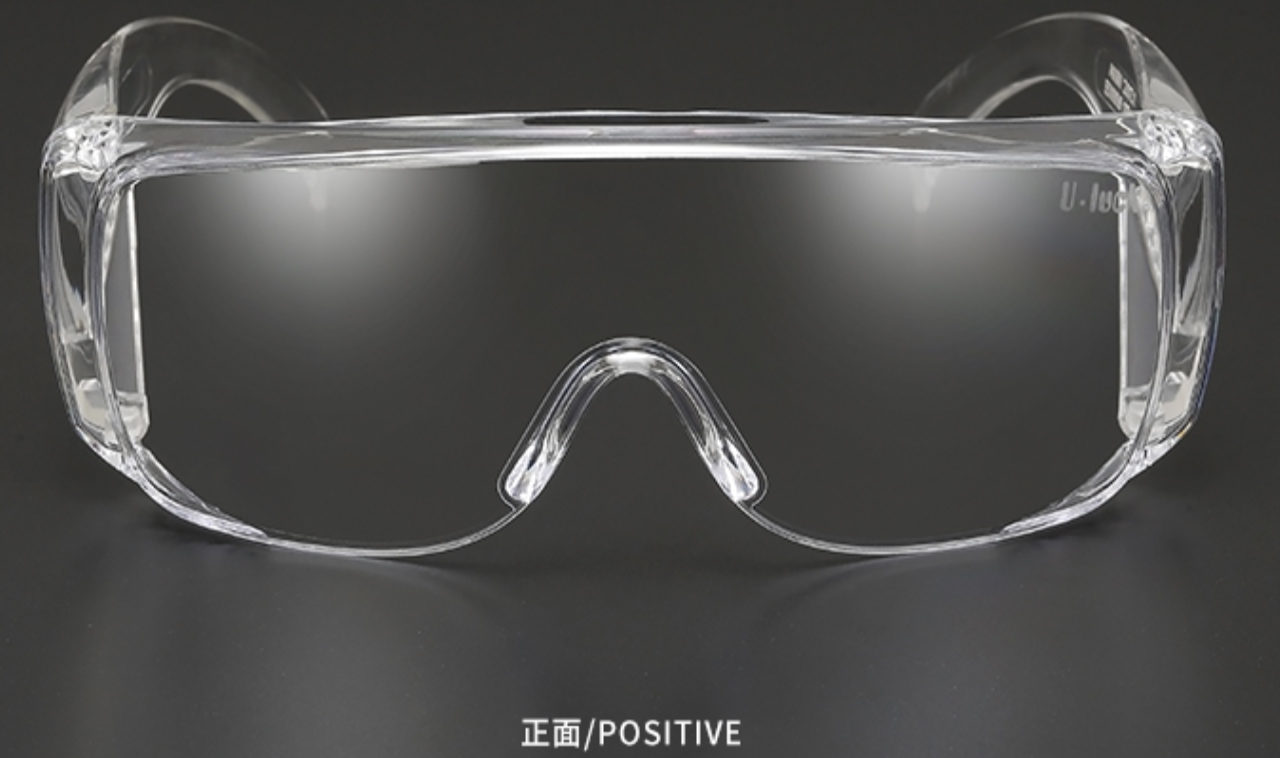 ANSI Z87.1 Ce Clear Transparent Anti-Fog Medical Protective Eye Glasses Safety Goggles