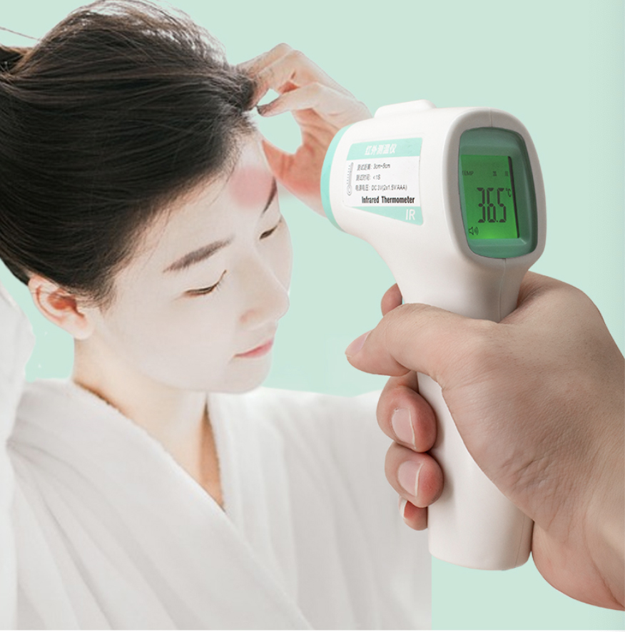 Medical Non contact Infrared Thermometer with FDA CE FCC
