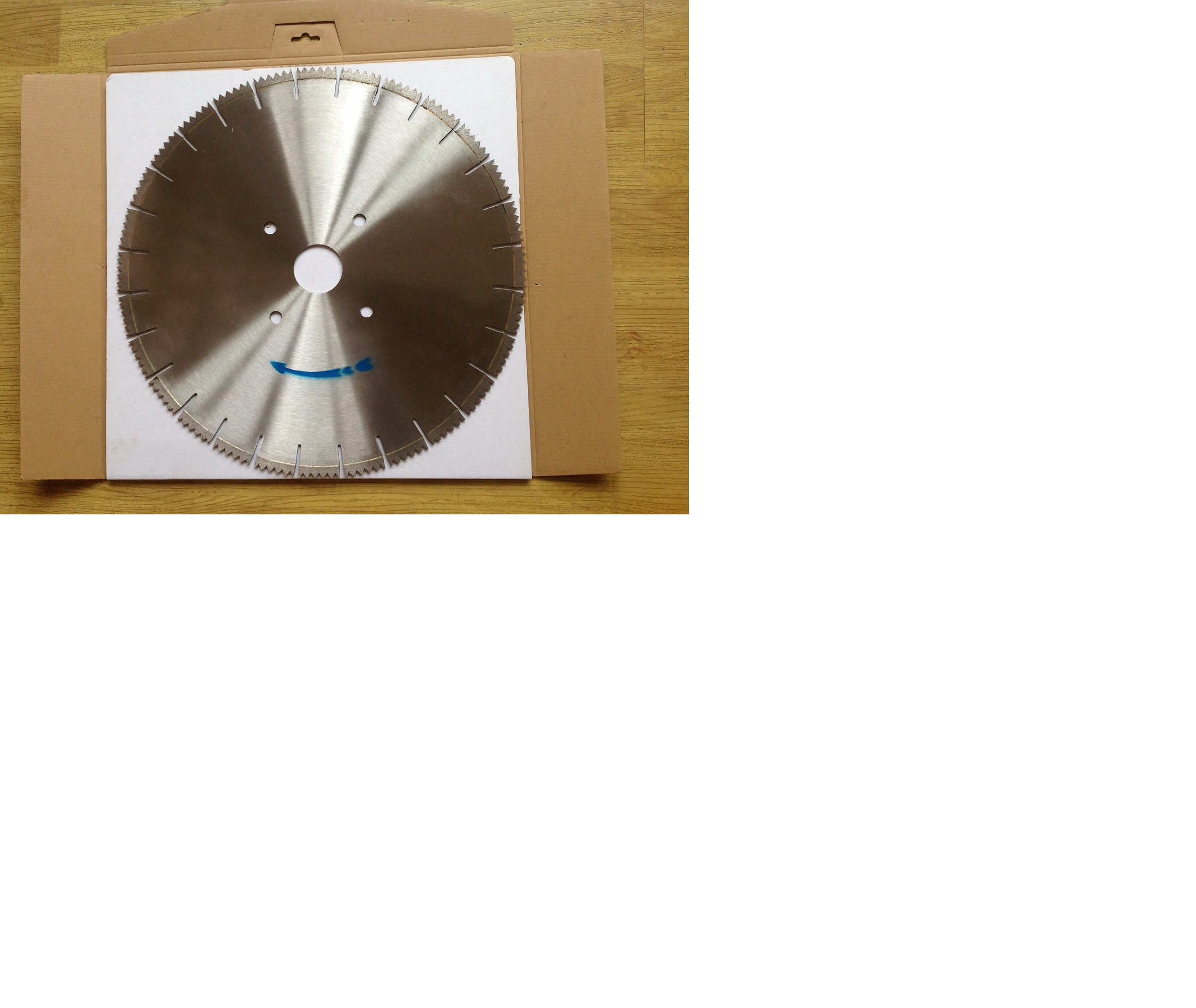 Diamond blade specially for cutting AAC block