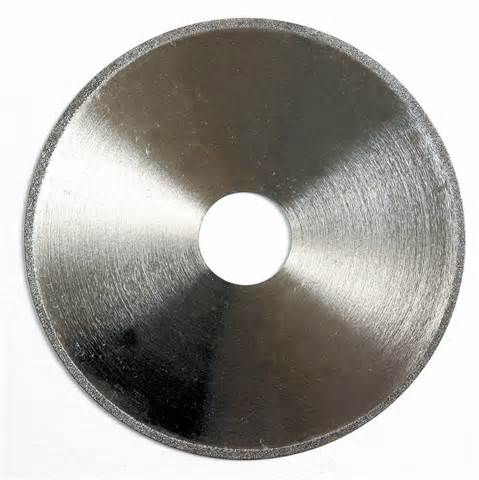 Electro chemical cutting wheel