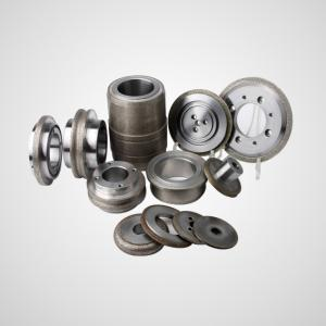 Electroplated bond grinding wheels