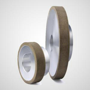 Glass edge grinding wheel